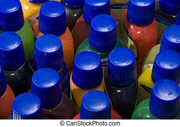 Multi-coloured,