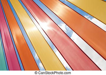 Multi-coloured Ribbons