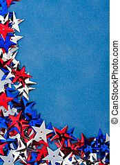 Multi Coloured Star Background