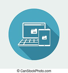 Multi devices folder synchronization