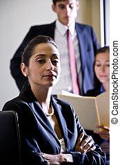 Multi-ethnic businesspeople