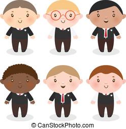 multi-ethnique, écolier
