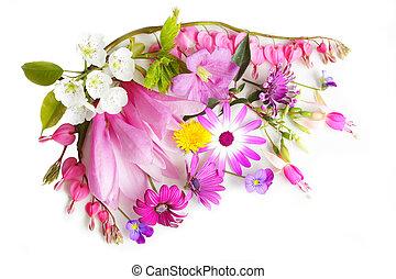 multi, fleurs