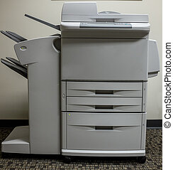Multi-function office copying scanning faxing machine