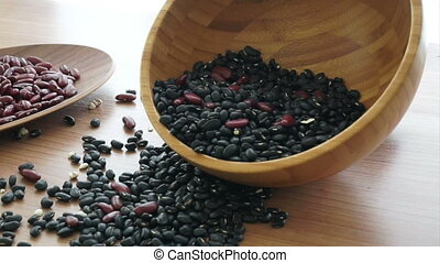 multi-grain beans healthy protein - beans red black and...