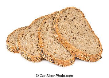 slice of multi grain bread