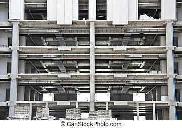 Multi-level building construction