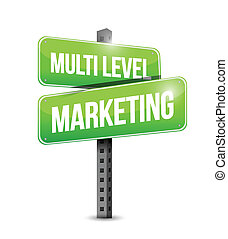 multi level marketing sign