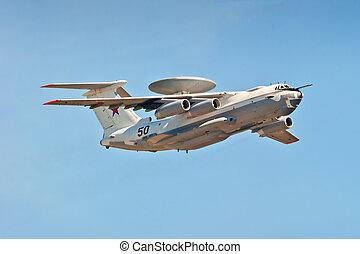multi-plane A-50U airborne warning and control