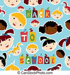Multi-racial education pattern - Diversity racial back to...