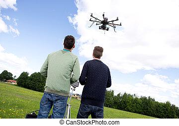 Multi rotor photography UAV