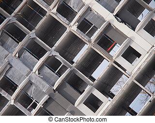 multi-storey building under construction