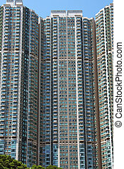 multi-storey residential building in Hong Kong