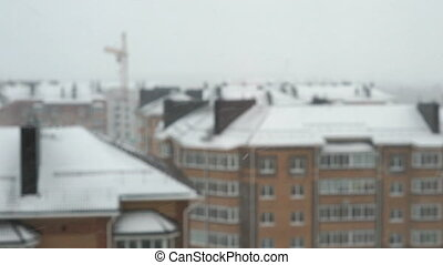 Multi-storey residential house.There is a Blizzard