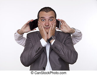 Multi-Tasking with a Mobile Phones in the Office