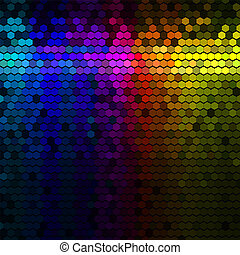 Multicolor abstract background - Multicolor abstract lights...