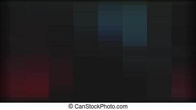 multicolor background of pixels in motion