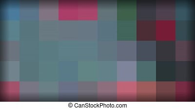 multicolor background of pixels in motion.