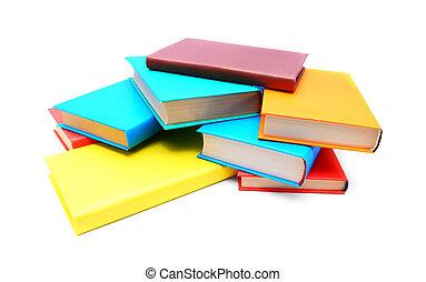 multicolor, books.