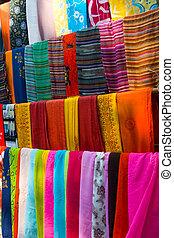 multicolor, bufandas