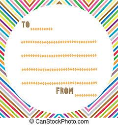Multicolor card2 - Multicolor card  for everyone.