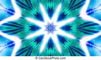 Multicolor cosmic chaos Loop