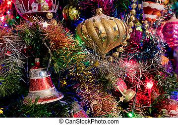 multicolor, decorazioni natale