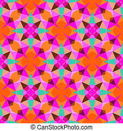 Multicolor geometric pattern in bright color. Vector ...