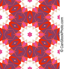 Multicolor geometric pattern in bright color.