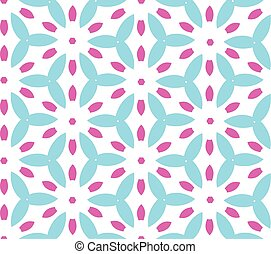 Multicolor geometric pattern in bright color