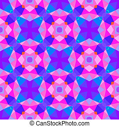 Multicolor geometric pattern in bright color. Vector...