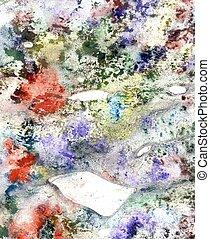 multicolor, grunge, fundo