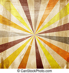 multicolor, grunge, raios sol, fundo