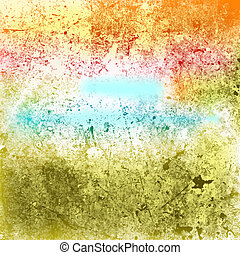 Multicolor Grunge Texture