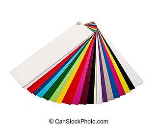 Multicolor guide