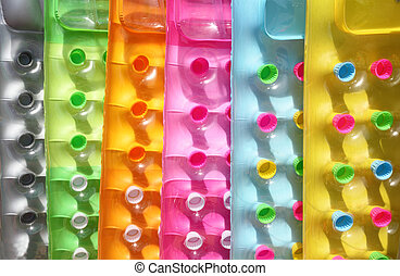 multicolor, inflable, colchones