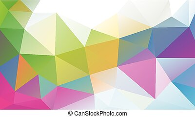 multicolor low poly background