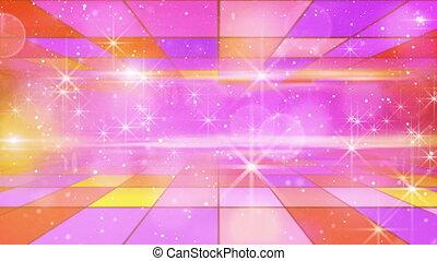 multicolor, lustrzany, wstecz, świąteczny