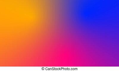 multicolor, movimiento, gradiente, plano de fondo