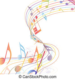 multicolor, musicale