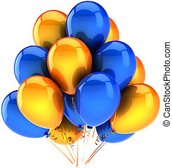 Multicolor party balloons