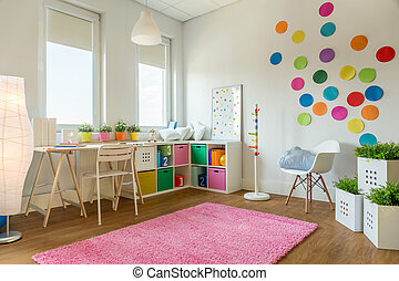 Multicolor playing room - Multicolor designed playing room...