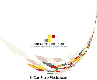 multicolor, poráka grafické pozadí