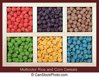 multicolor, ryż, kasza, nagniotek
