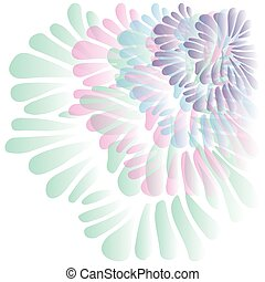 Multicolor Seashell Inspired Design