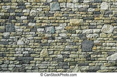 Multicolor stone wall texture