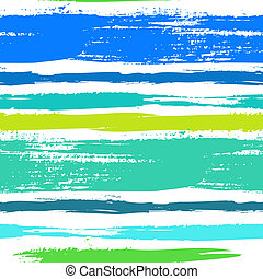 Multicolor striped pattern with brushed lines - Multicolor...