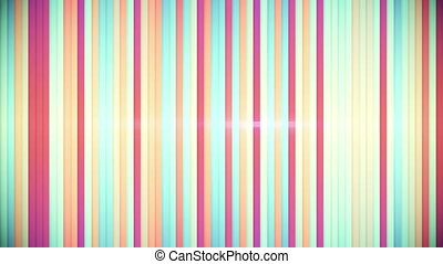 multicolor stripes loopable back