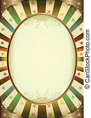 Multicolor Sunbeams frame poster - A vintage frame with a...