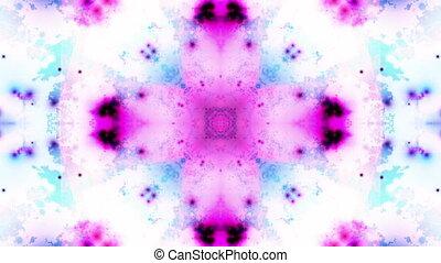 Multicolor VJ Loop Background